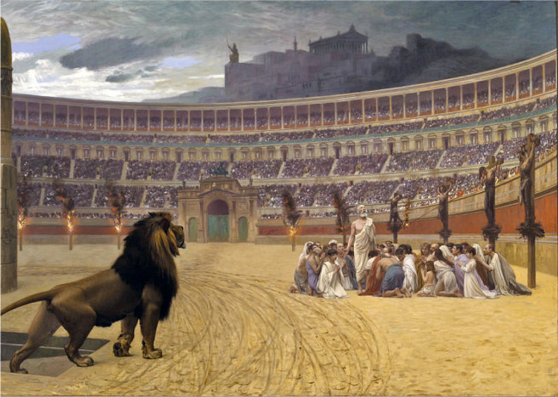 Christians Thrown to the Beasts